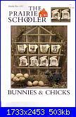 The Prairie Schooler 121 - Bunnies & chicks-prairie-schooler-121-bunnies-chicks-jpg