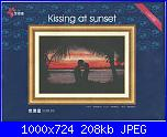 Dome 110110 - Kissing at sunset-dome-110110-kissing-sunset-jpg