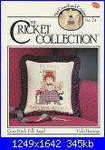 The Cricket Collection 074 Cross Stitch Folk Angel -Vicki Hastings - 1990-cricket-collection-074-cross-stitch-folk-angel-vicki-hastings-1990-jpg