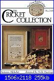 The Cricket Collection 213 - Autumn Alphabet - Vicki Hastings - 2001-cricket-collection-213-autumn-alphabet-vicki-hastings-2001-jpg