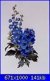 The Silver Lining - Delphiniums - 2001-1-jpg