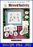Dimensions 161 Blessed Nativity - Karen Avery-dimensions-161-blessed-nativity-karen-avery-jpg