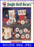 Dimensions 186 Jingle Bell Bears - Lucy Rigg-dimensions-186-jingle-bell-bears-lucy-rigg-jpg