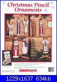 Dimensions - 8453 Christmas Pencil Ornaments-dimensions-8453-christmas-pencil-ornaments-jpg