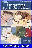 Leisure Arts - Leaflet 624 Fingertips For All Occasions-leisure-arts-leaflet-624-jpg