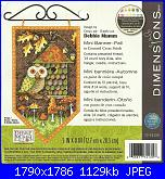 Dimensions - 72-74135 -  Mini Banner Fall by Debbie Mumm-dimensions-72-74135-mini-banner-fall-jpg