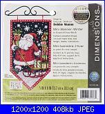 Dimensions 72-74136 Debbie Mumm Mini Banner- Winter-dimensions-72-74136-debbie-mumm-mini-banner-winter-jpg