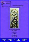Art-Stitch AS-157 - Iris Window-art-stitch-157-iris-window-jpg