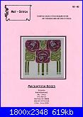 Art-Stitch AS-163 - Mackintosh Roses-art-stitch-163-mackintosh-roses-jpg