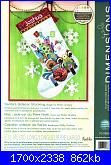 Dimensions 70-08867 - Santa's Sidecar Stocking-santas-sidecar-stocking-70-0886-jpg