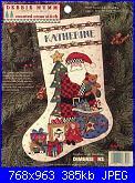 Dimensions 8505 - Santa Claus Stocking-dimensions-8505-santa-claus-stocking-jpg