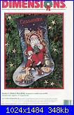 Dimensions 8518 - Santa's Finest Stocking-dimensions-8518-santas-finest-stocking-jpeg