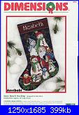 Dimensions 8574 - Snow Bunch Stocking-dimensions-8574-snow-bunch-stocking-jpg