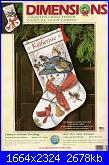 Dimensions 8779 - Emma's Friends Stocking-dimensions-8779-emmas-friends-stocking-jpg