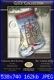 Dimensions 8819 - Christmas Sled Stocking-dimensions-8819-christmas-sled-stocking-jpg