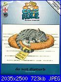 Heritage Crafts - Cats Rule - Peter Underhill  CRDD1134 Do Not Disturb-heritage-crdd1134-do-not-disturb-peter-underhill-jpg