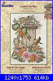 Bucilla 43091 -  Birdhouse With Floral-cover-jpg