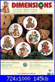 Dimensions 8705 - Teddy Treasures Ornaments-0-jpg