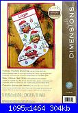 Dimensions 70-08951 - Holiday Hooties Stocking-cover-jpg