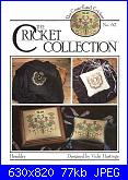 The Cricket Collection 74 - Cross Stitch Folk Angel - Vicki Hastings 1990-62-heraldry-jpg