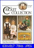 The Cricket Collection 74 - Cross Stitch Folk Angel - Vicki Hastings 1990-59-more-than-sweatshirts-jpg