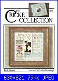 The Cricket Collection 282 - Rich Praise -  Vicki Hastings 2008-282-rich-praise-jpg