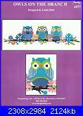 Imaginating 2877 - Owls on the Branch - Linda Bird - 2014-cover-jpg