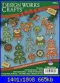 Design Works Crafts - 1694 Woodland Ornament Set-dw-1694-woodland-ornament-set-jpg