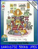 Heritage Crafts - Cats Rule - Peter Underhill  CRCL1229 Crazy Cat Lady-crcl1229-crazy-cat-lady-jpg