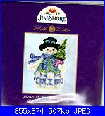 Mill Hill - JS20-5101 Evergreen Snowman-mh-js20-5101-evergreen-snowman-jpg