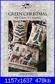 The Little Stitcher - The Colors of Christmas - Green Christmas nov 2016-tls-green-christmas-jpg