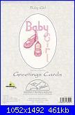 Derwentwater Designs - CDG18 Greetings Cards - Baby Girl-cdg18-baby-girl-jpg