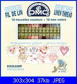 DMC Natural -  Schemi abbinati ai DMC di lino-1-jpg