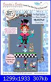 Brooke's Book - Once upon a stitch - The Mad Hatter-cover-jpg
