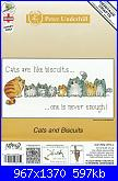 Heritage Crafts - Cats Rule - PUCB1443 Cats and Biscuits by Peter Underhill 2018-cats-biscuits-01-jpg