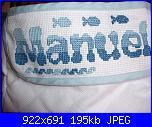 Ricami eseguiti sui cestini baby di aliluca-cestino-portatutto-manuel-particolare-jpg