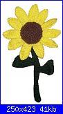 Fiori e piante amigurumi-sunflower-jpg