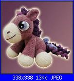 Cavalli, asini, unicorni, renne-delicious-crochet-heather-pony-page-1-jpg