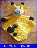 Amigurumi per bebé-doudou-giraffa-jpg
