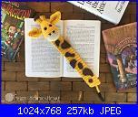 Segnalibri amigurumi-giraffa-jpg