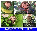 Carlina62: Una bambolina e altri amigurumi-scimmietta-jpg