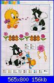 cerco schemi looney toones con strumenti musicali-baby-camilla-looney-2-jpg