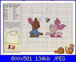 Schemi Winnie e gli amici x bavaglino-img017-jpg