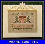 """Cerco questo schema di CCN """"Gingerbread Cottage""""-jpg"""