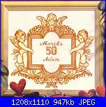 Schemi per 50° Anniversario di Matrimonio.-1-jpg