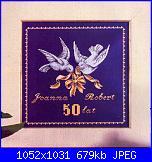 Schemi per 50° Anniversario di Matrimonio.-5-jpg