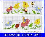 cerco bordura prato, fiori e insetti per lenzuolino-lenzuolino-3-jpg