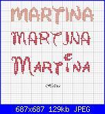 Quadretto con Minnie Baby-martina-jpg