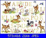 cerco schema Alfabeto Bambi-sampler-bambi-senza-griglia-jpg