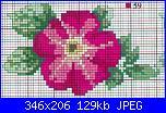 Schemi piccoli fiori-schema-punto-croce-fiore-rosa%5B1%5D-jpg